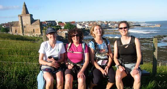 201006-Clare-Lardner---Clare-wearing-500-miles-T-shirt