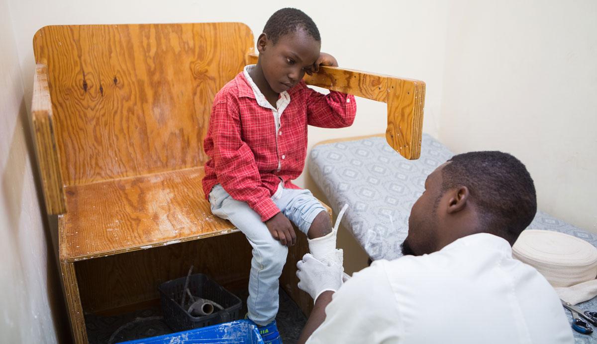 A Patient In Lilongwe