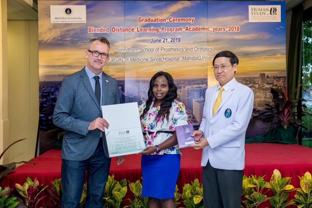 Benadeta Graduating