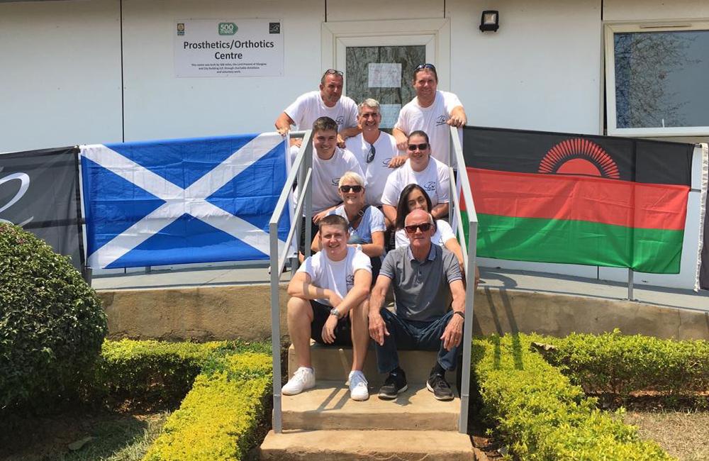 The Lilongwe Refurb Team From Glasgow