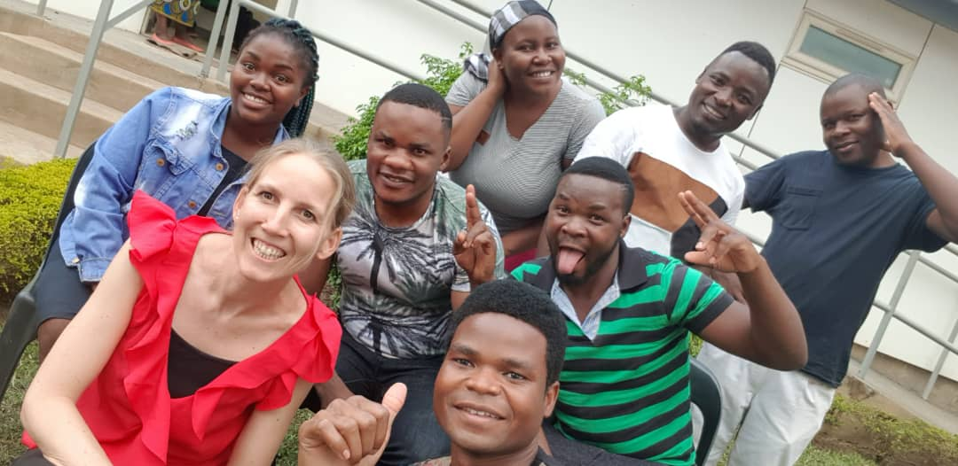 Evelyne And The Team At Lilongwe